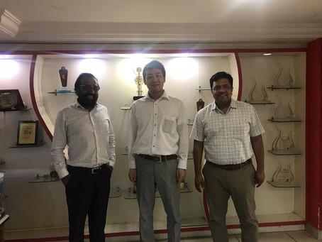 インド企業Prakruti Products Pvt. Ltd.と業務提携を締結しました