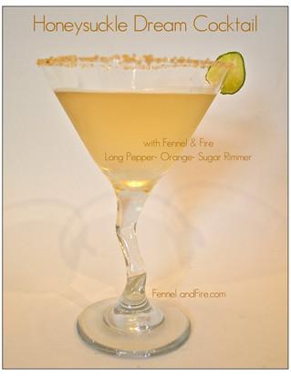 Honeysuckle Dream Cocktail