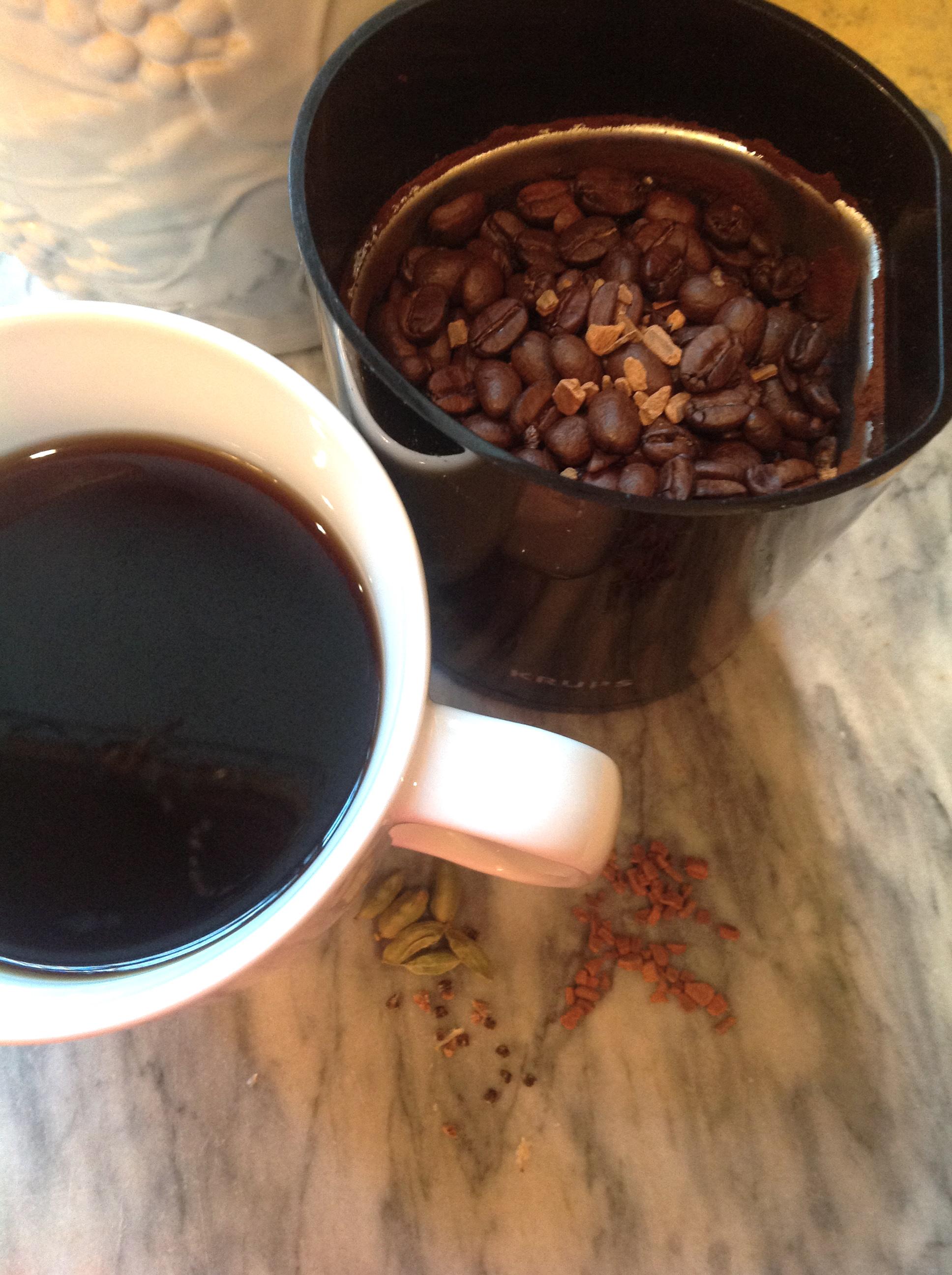 Coffee w Coffee Twist