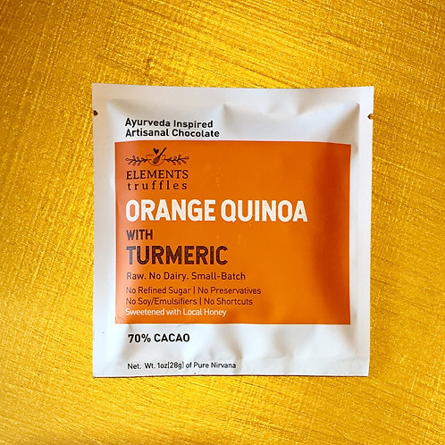 Orange Quinoa Mini