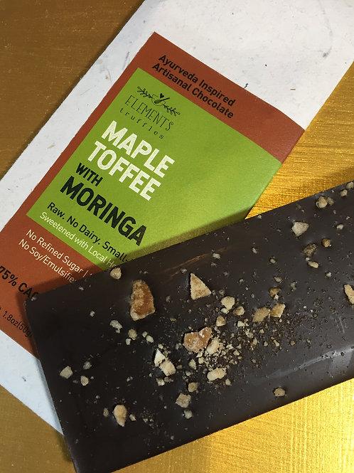 Maple Toffee w Moringa