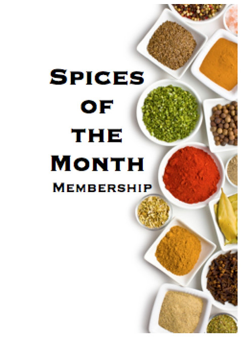 Spice of the Moment Membership