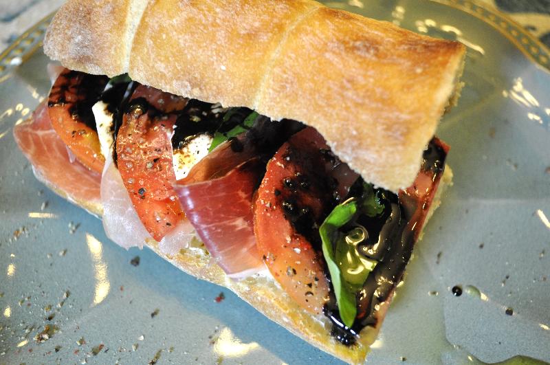 Fennel and Fire Fresh Tomato Sandwich