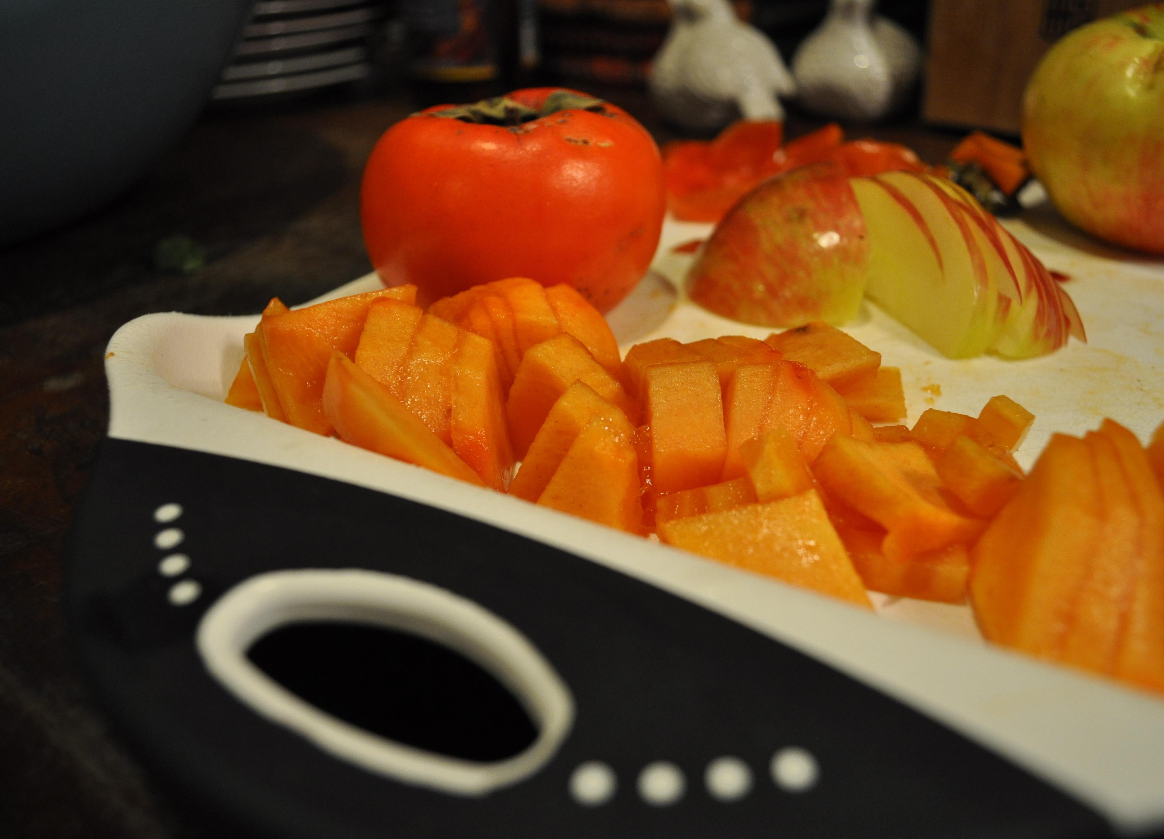 Fennel and Fire Persimmon and honeycrisp