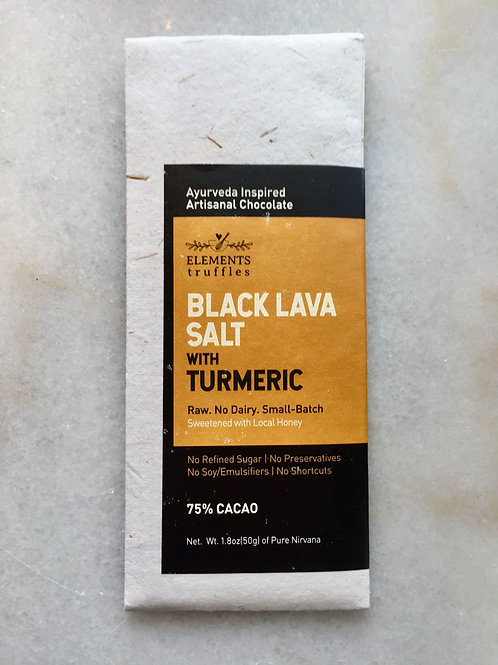 Black Lava Salt Chocolate