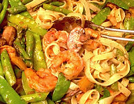 Fennel and Fire Shrimp Pasta