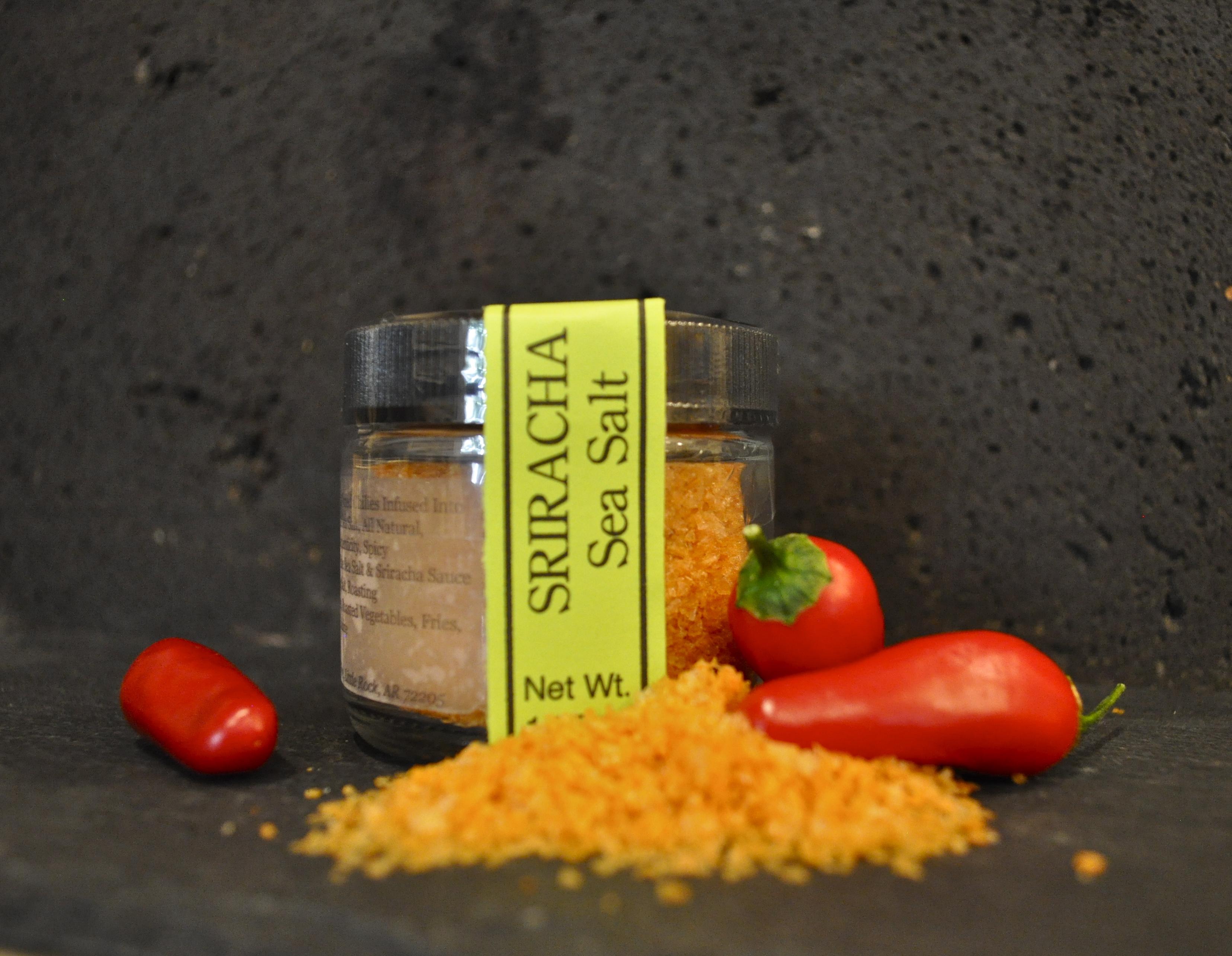Fennel and Fire Sriracha Sea Salt