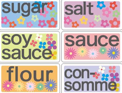 sugar salt ...