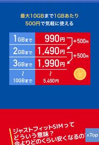 「b-mobile」のホームページより