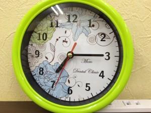 オリジナル壁掛け時計!