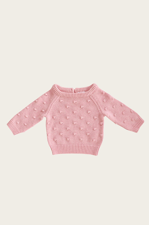 Dotty Knit Marshmallow