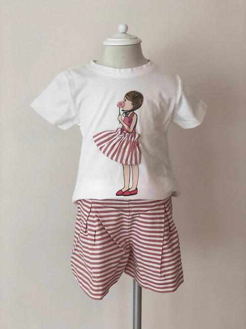 Girl Stripe Set
