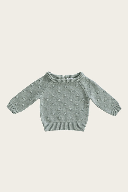 Mist Dotty Knit