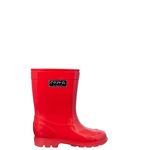 Rainboots Rojas