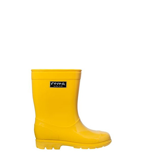 Rainboots Amarillas
