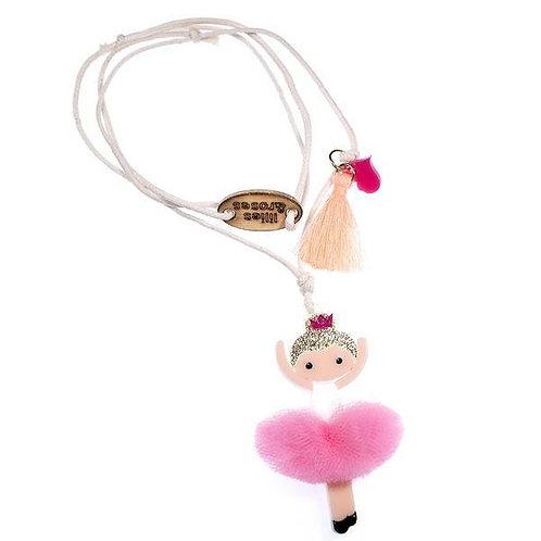Pink Ballerina Necklace