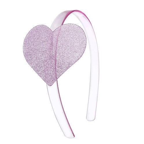 Headband Glitter Heart