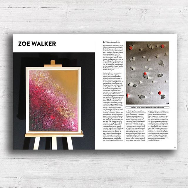 My work is featured in issue 8 of @artis