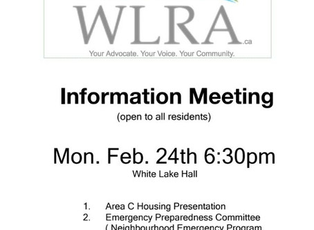 Information Meeting Feb 24 6:30