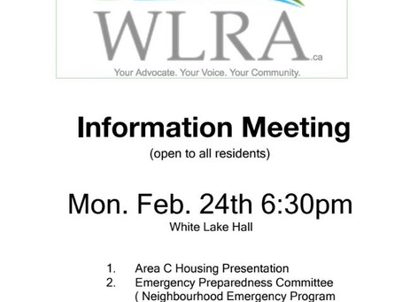 Event: Information Meeting Feb 24 6:30
