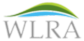 WLRA Lake & Mountain Logo