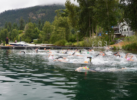 Inaugural White Lake Triathlon hits the ground running