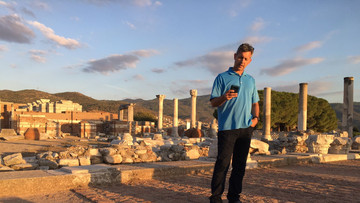 Basilica of the Apostle John - Giving a Bible Study