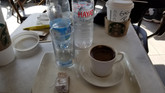 More coffee, delight and water
