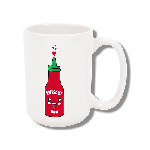15 oz. Ceramic Awesome Sauce Mug