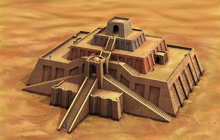 Historia de la arquitectura : Mesopotamia.