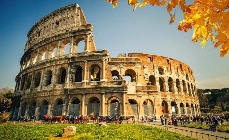 Coliseo romano, historia de la arquitectura