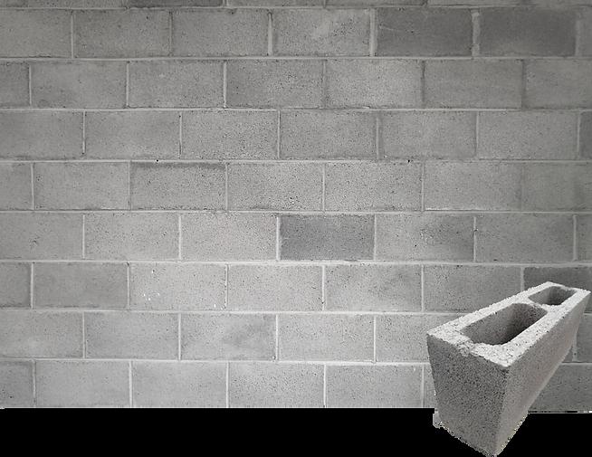Block de concreto reciclado
