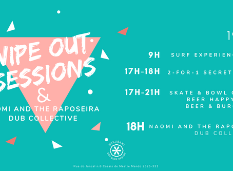 Wipe Out Sessions & Naomi and the Raposeira Dub Collective