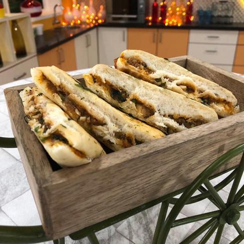 CHETTINAD PANINI SANDWICH