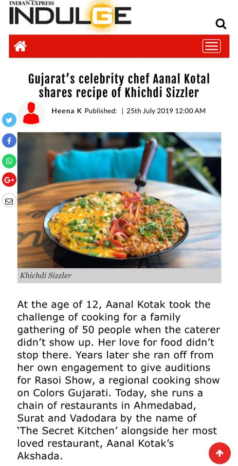 Best Chef in india