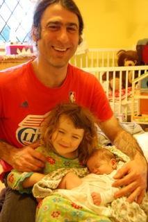 Benjamin and family