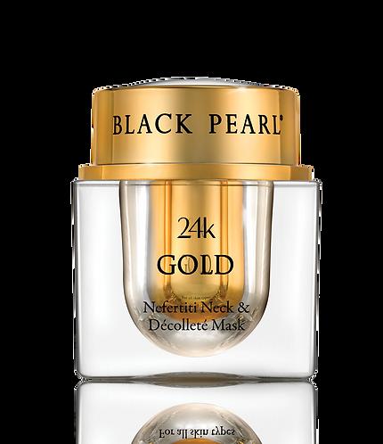 24K Gold Nefertiti Neck Decollete Mask