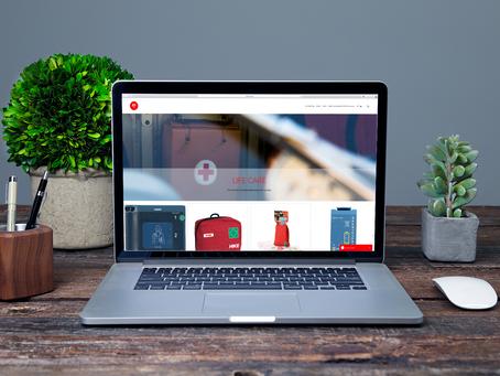 Ny webside til LIFE CARE