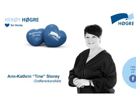 Takker Herøy Høgre for oppdraget med og lage grunnlaget til utsmykkinga, på det nye Høgres Hus.