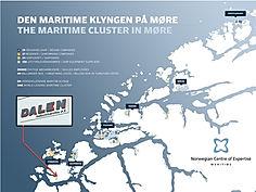 Dalen Industriservice sin plasering i den maretime klyngen