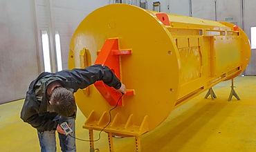 Dalen Industrisevice AS kontroll av maling