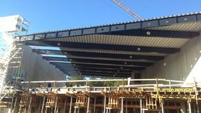 Takkonstruksjonen til nye Ulstein Arena
