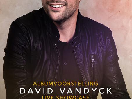 ALBUMVOORSTELLING DAVID VANDYCK