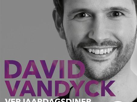 VERJAARDAGSDINER 'DAVID VANDYCK 40'