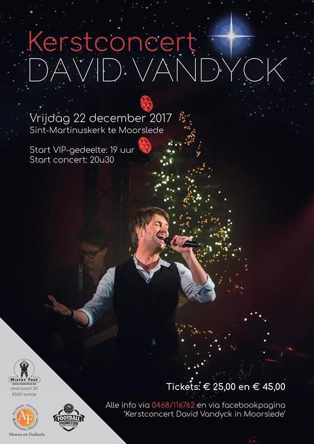 David Vandyck Kerstconcert Moorslede
