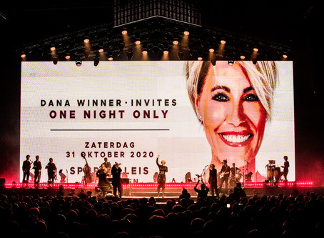 DANA WINNER INVITES - ONE NIGHT ONLY IN SPORTPALEIS