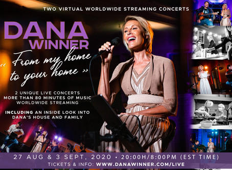 2 VIRTUAL WORLDWIDE CONCERTS | << FROM MY HOME TO YOUR HOME >>
