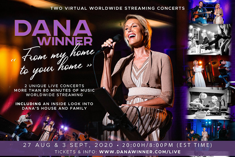 Dana Winner Virtual Streaming Concerts.j