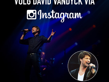 VOLG DAVID VANDYCK OP #INSTAGRAM