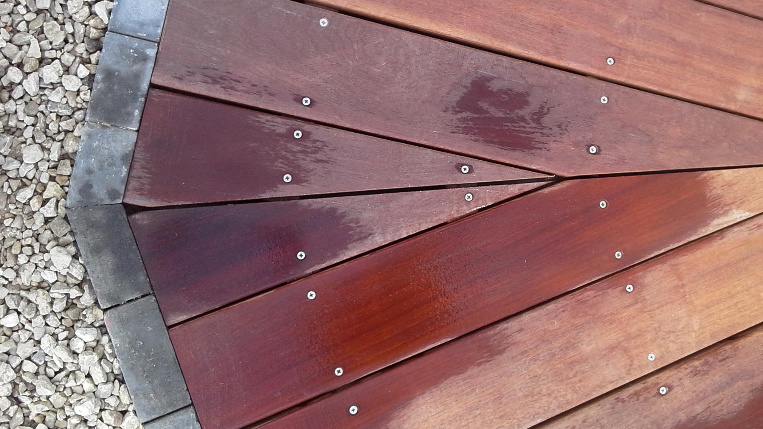 Kedomi terraswerken hout